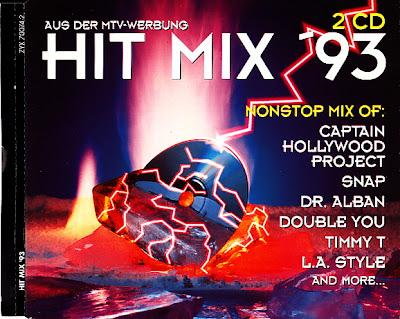 HIT MIX \'93  (2CD Set) 35 original artists non-stop mix (Album) 1993 Eurodance Hi-NRG Italo Disco Eurobeat House 90\'s \