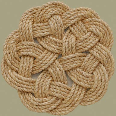 decorative rope knots-#8