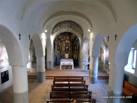 Iglesia Santa Eulalia Unha, Romanico Aran
