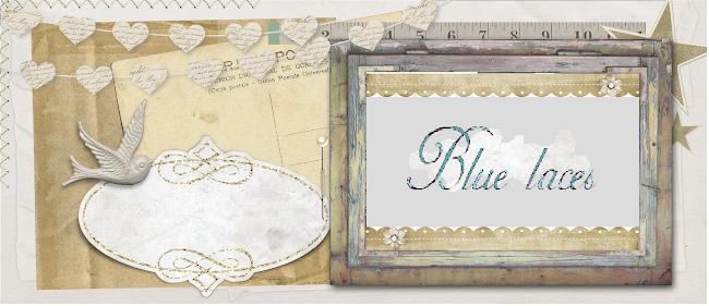 γαλάζιες δαντέλες
