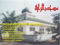 Masjid yang mendapat bantuan dana hibah