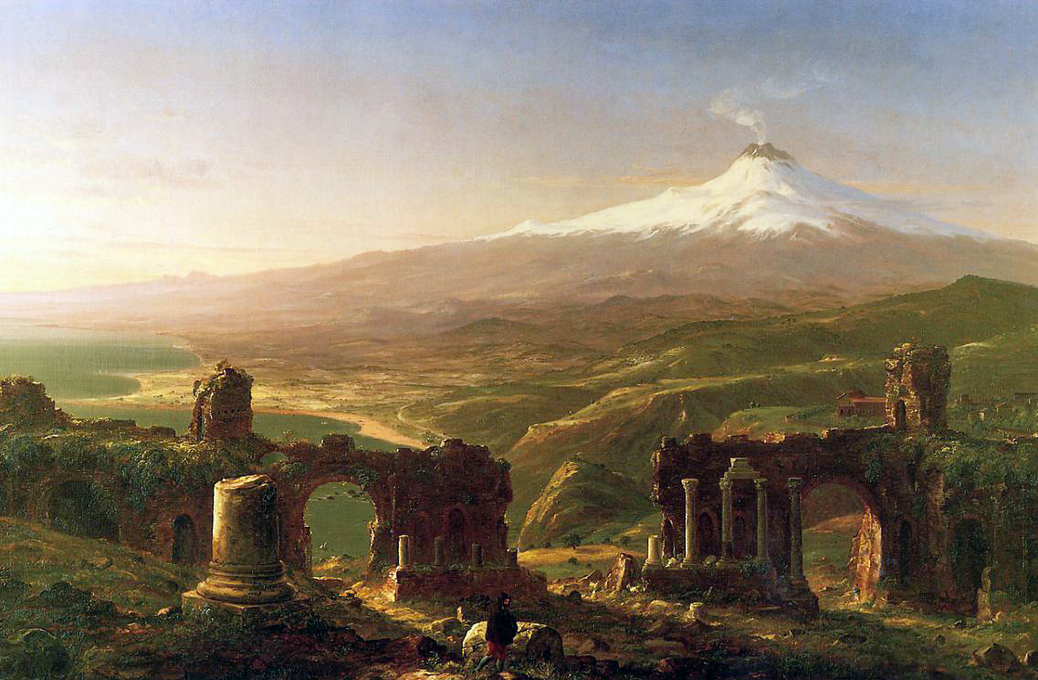 art history thomas cole In cole's home in the woods, a father returns home to the family cabin in the white mountains  thomas cole: landscape into history  the art of thomas cole:.