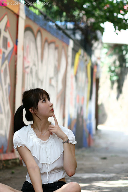 3 Yeon Da Bin - Outdoor-Very cute asian girl - girlcute4u.blogspot.com