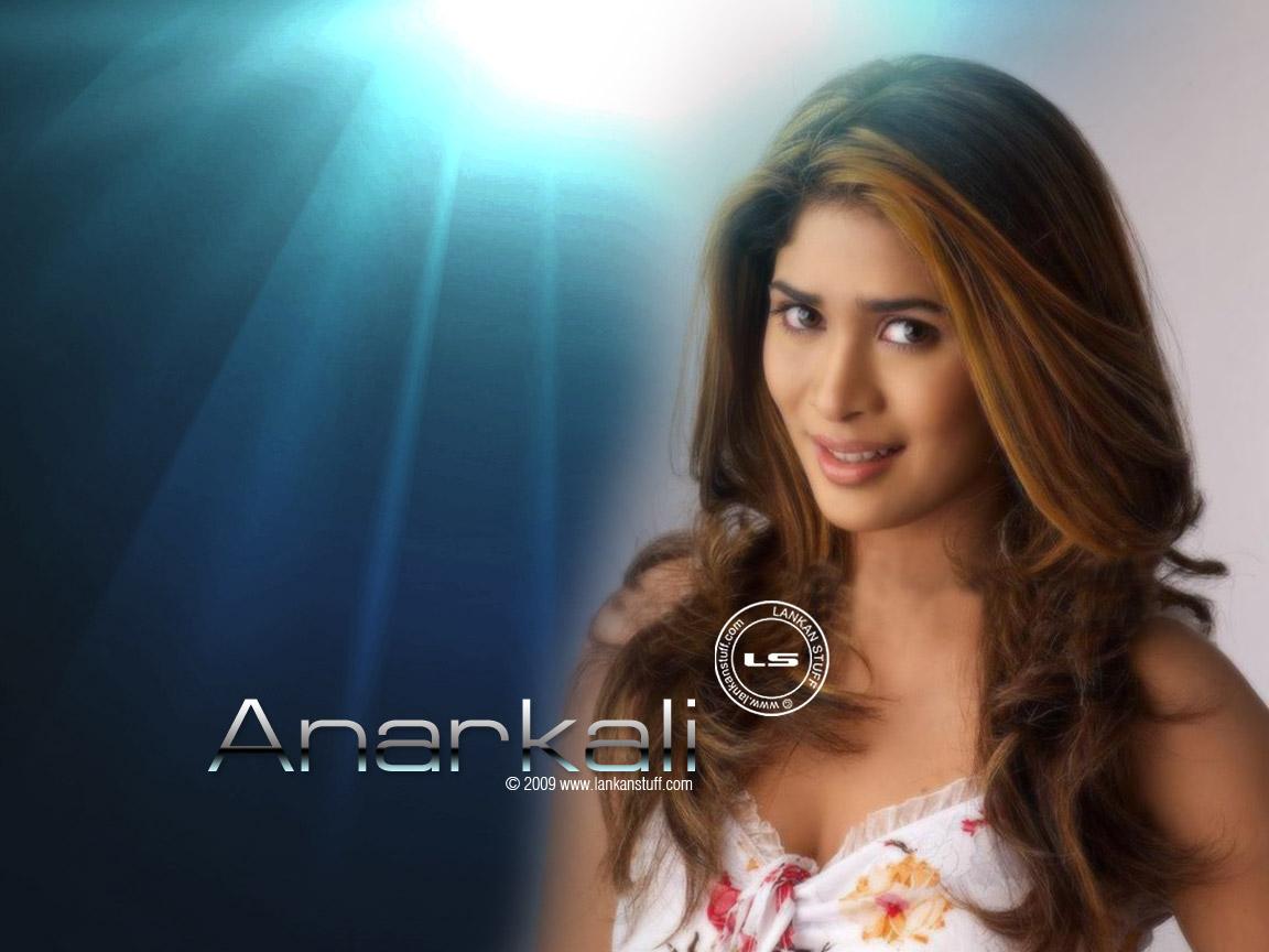 Lanka Sri Anarkali Akarsha Blue