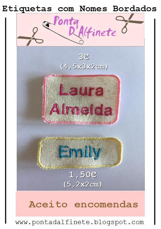 Nomes bordados