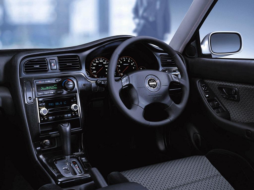 Subaru Legacy III-gen. 1998 2003 BE, BH 日本車 チューニングカー スバル japoński samochód sedan boxer tuning zdjęcia wnętrze interior