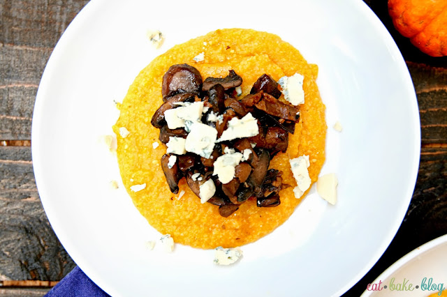 polenta recipe best pumpkin side dish sautéed mushroom recipe