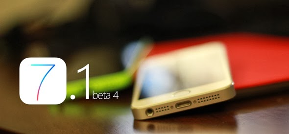 iOS 7.1 Beta 4 now available to developers, minor changes made, rumored to release March 2014