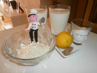 Arroz con leche asturiano tradicional.