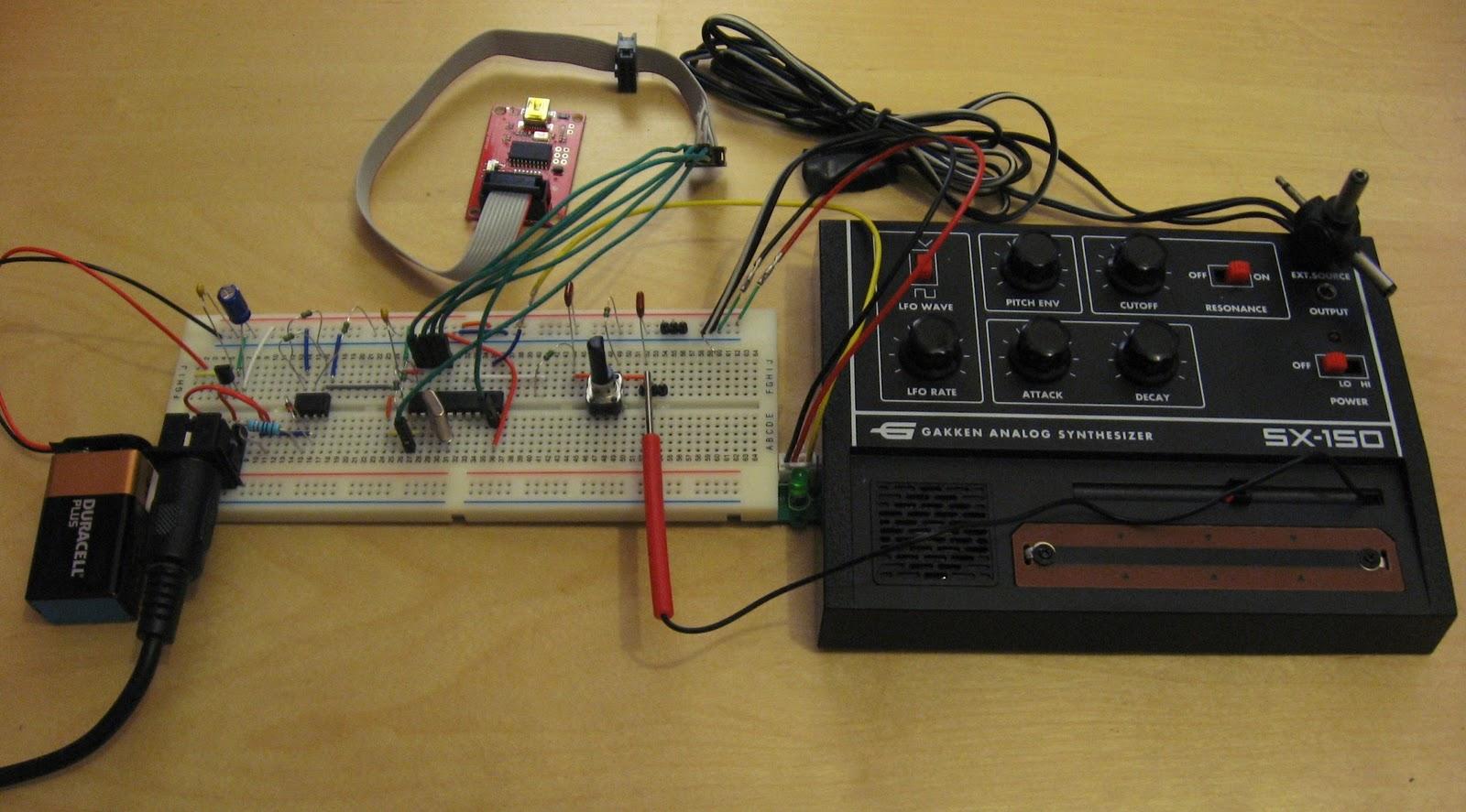 Analog Build Music Things Diy Voltagecontrolled Amplifier Hackme Gakken Sx 150 Midi Interface
