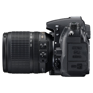 D7000 Dx Side View