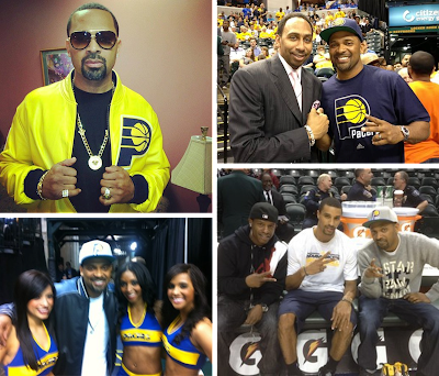 Indiana Pacers Fan Mike Epps