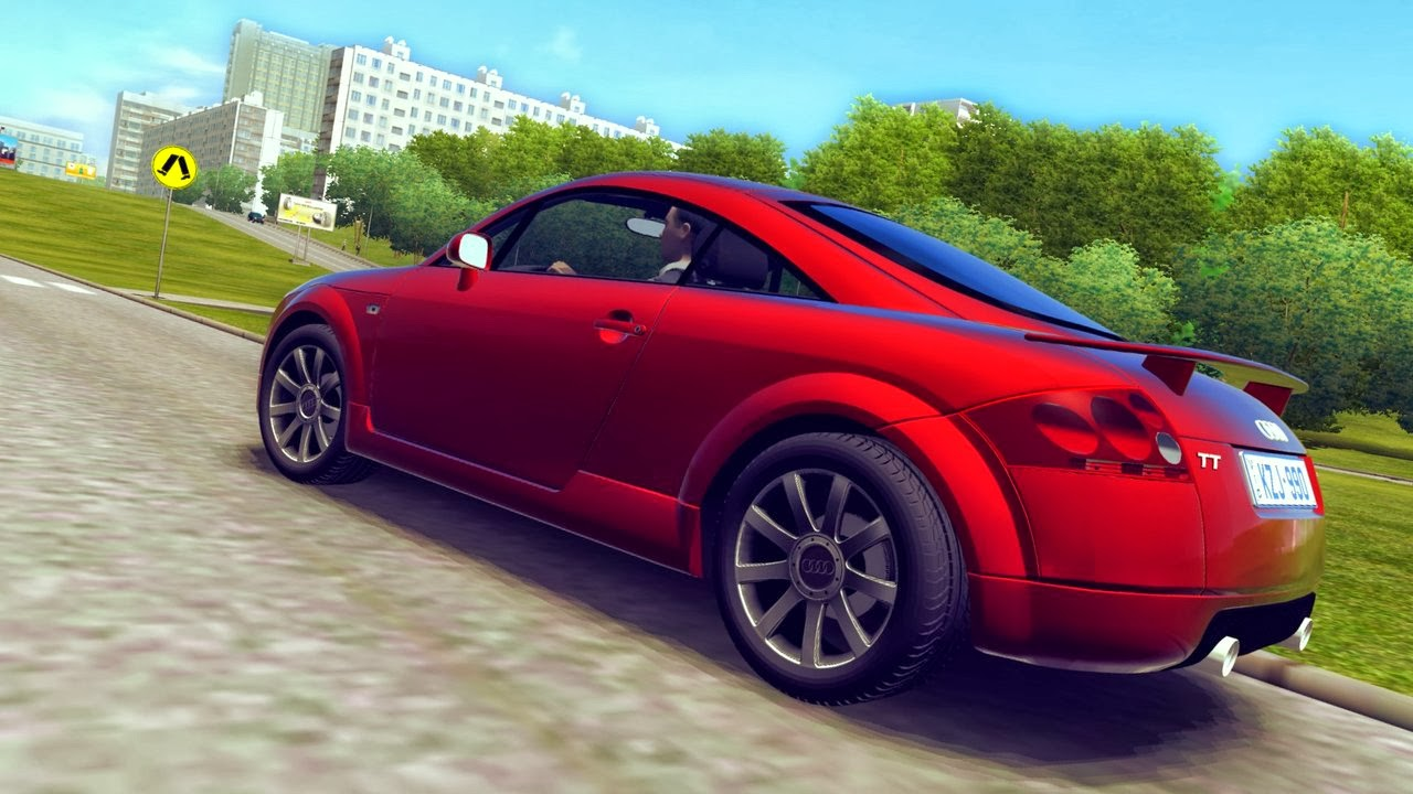 city car driving mods audi tt 1 3 1. Black Bedroom Furniture Sets. Home Design Ideas