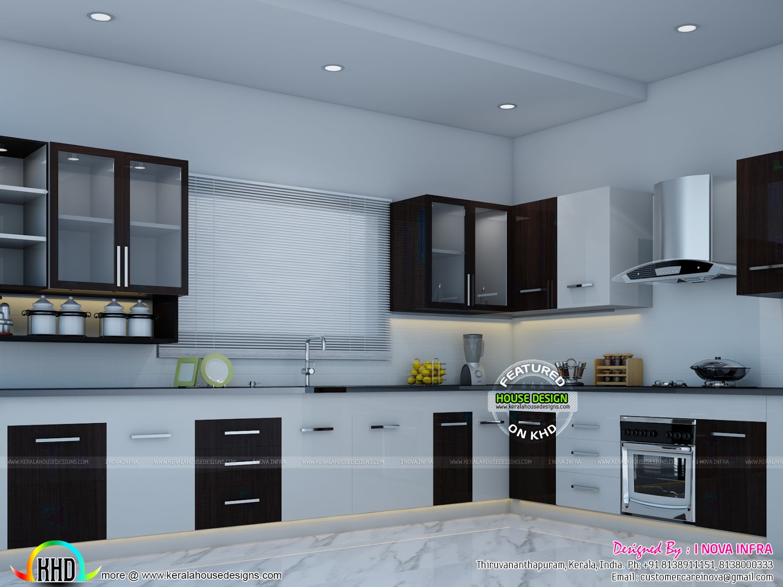 Modular Kitchen Kerala Home Design And Floor Plans