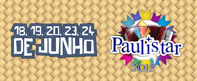 Programação oficial do Paulistar 2015