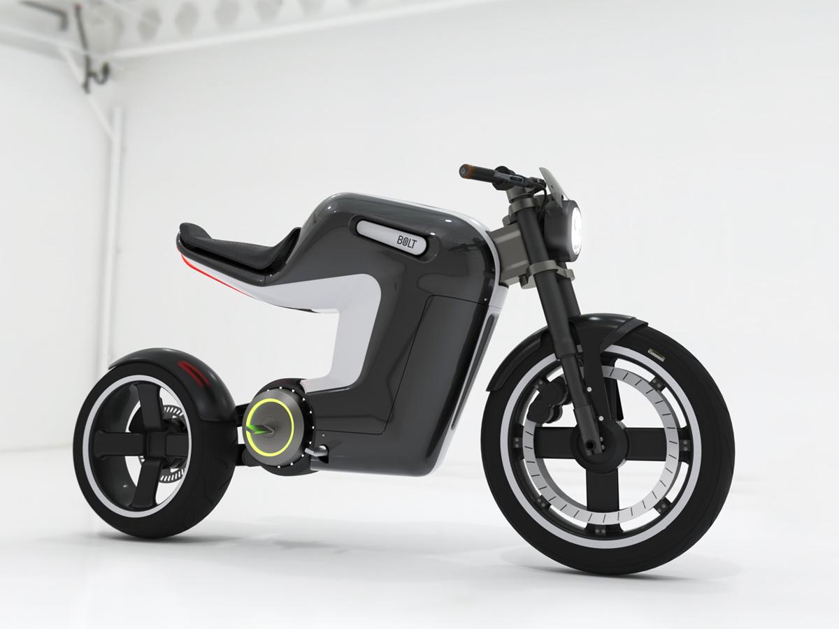 Moto El Trica Conceito Bolt Alta Octanagem