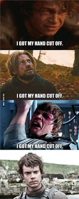 Theon Star Wars cortar mano pene - Juego de Tronos en los siete reinos