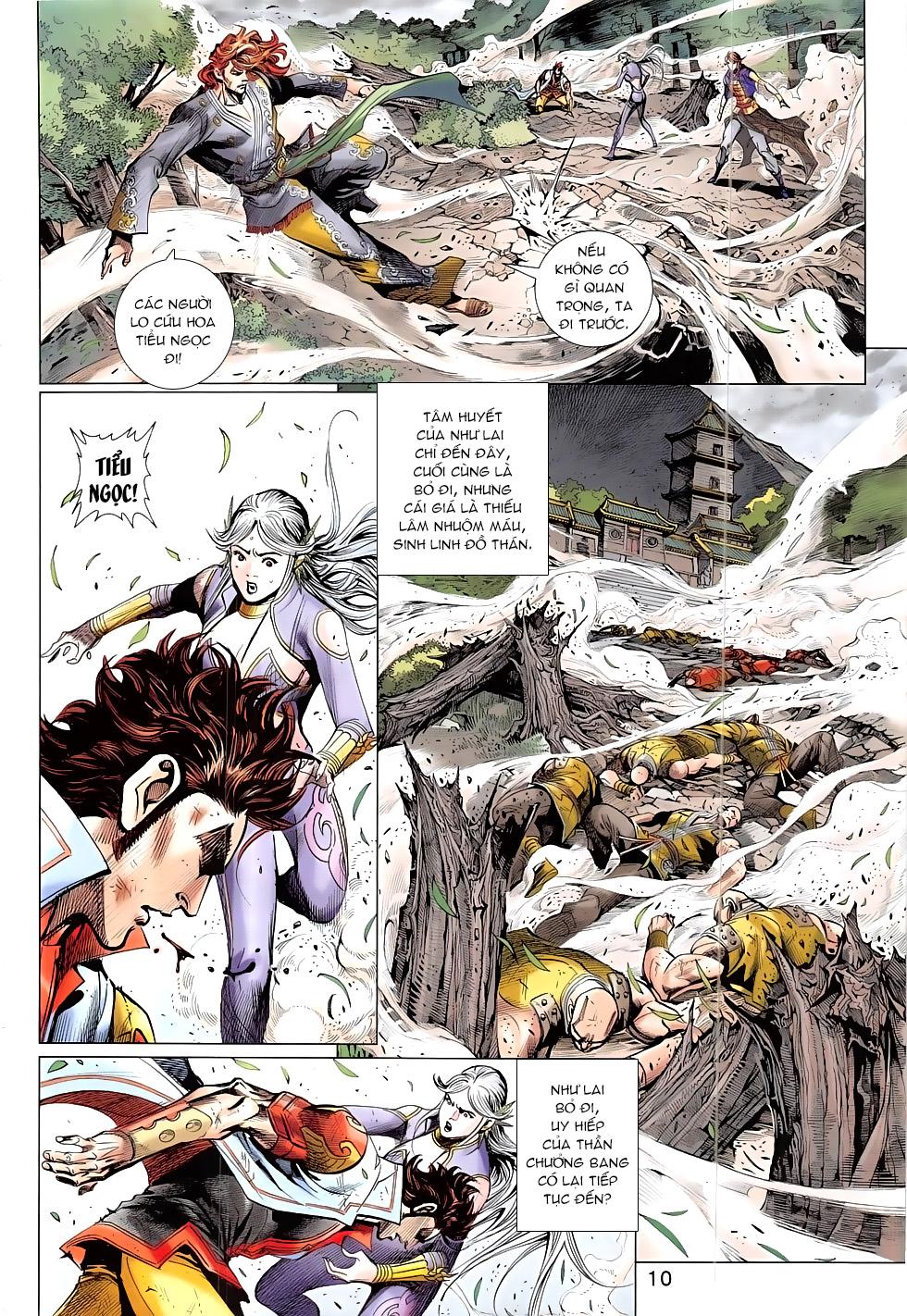 Thần Chưởng chap 24 – End Trang 10 - Mangak.info