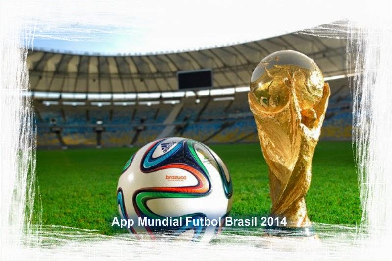 App  Mundial Brasil 2014