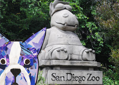 Bosty goes to San Diego by Megan Coyle