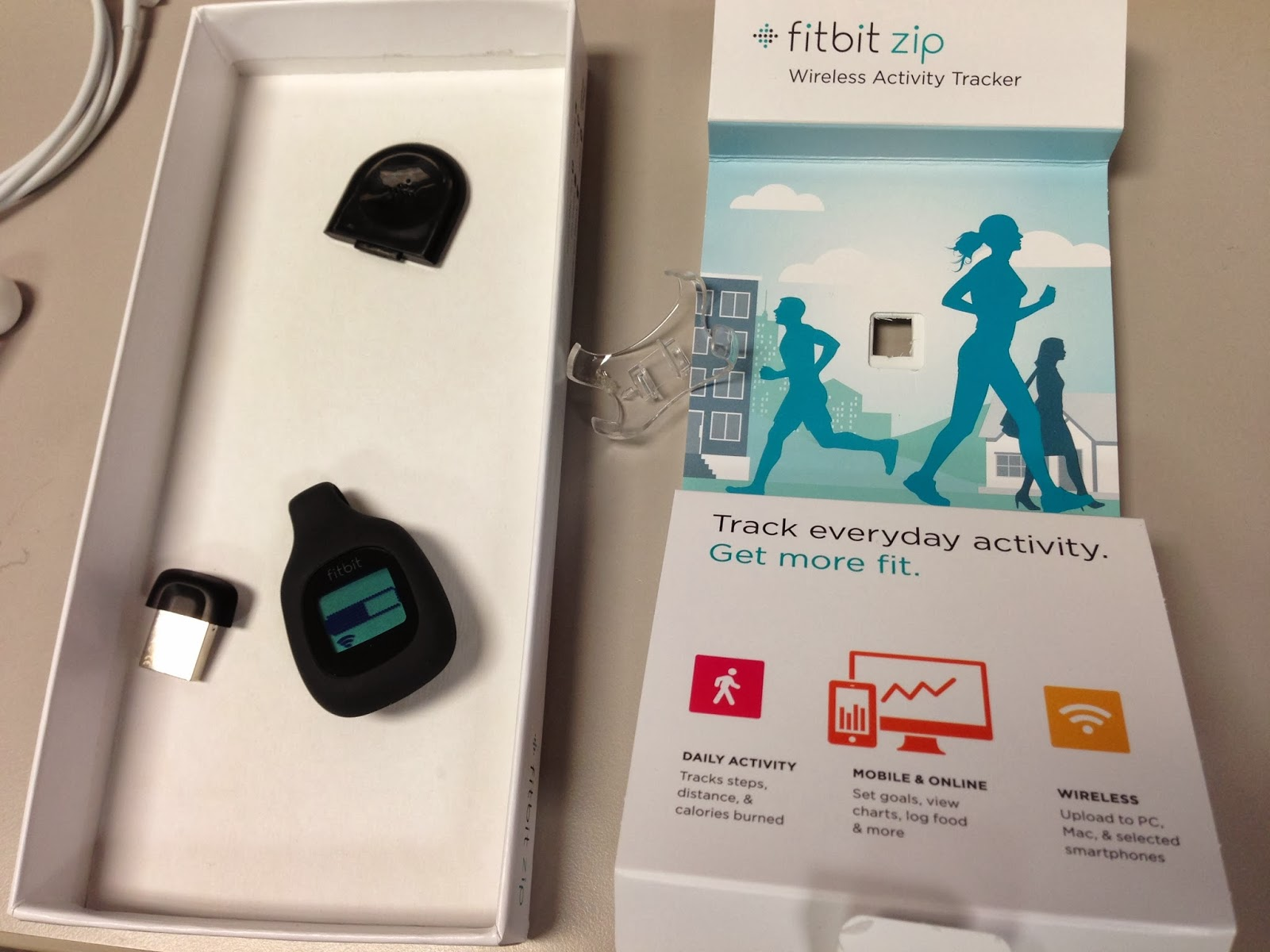 fitbit zip setup instructions