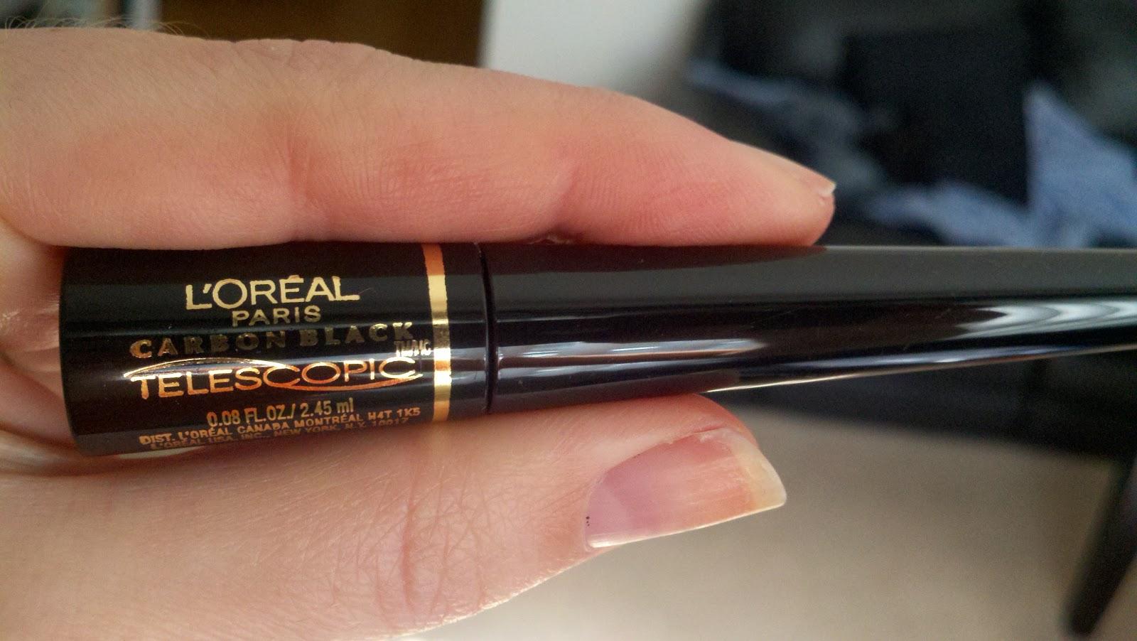 Beauty Vigilante: REVIEW: L'oreal Carbon Black Telescopic Liquid ...
