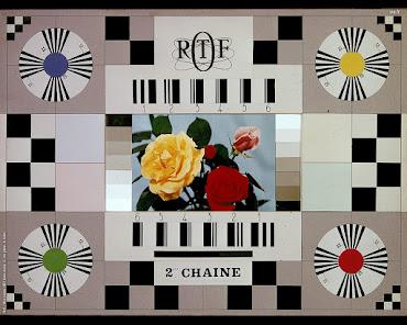 Mire ORTF 2éme chaîne couleur en 1967