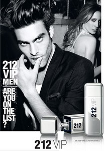 Amostra Gratis Perfume 212 VIP Men