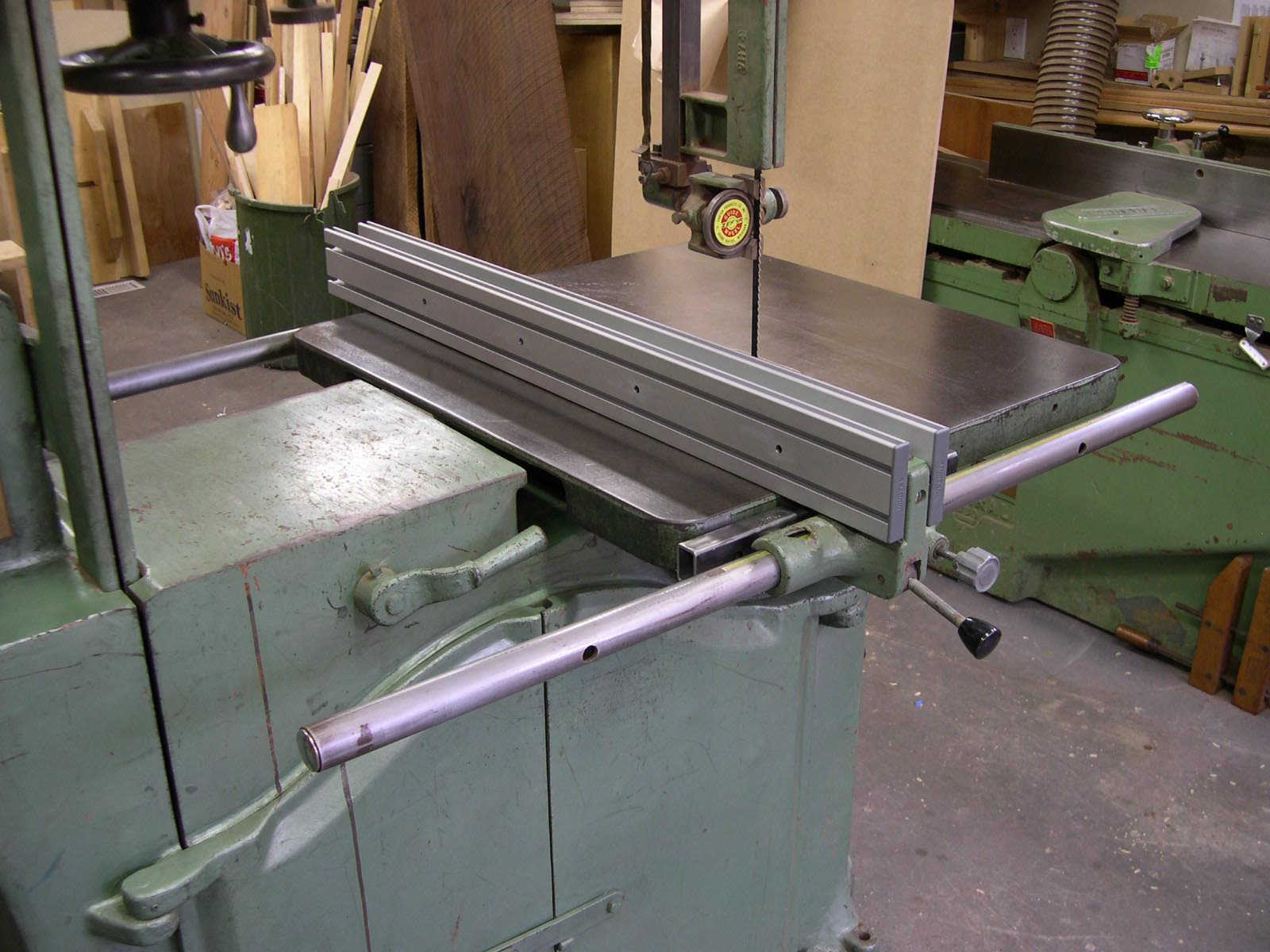 Table Saw Fence System With Interchangable Fences I Found On Aluminum Extrusions