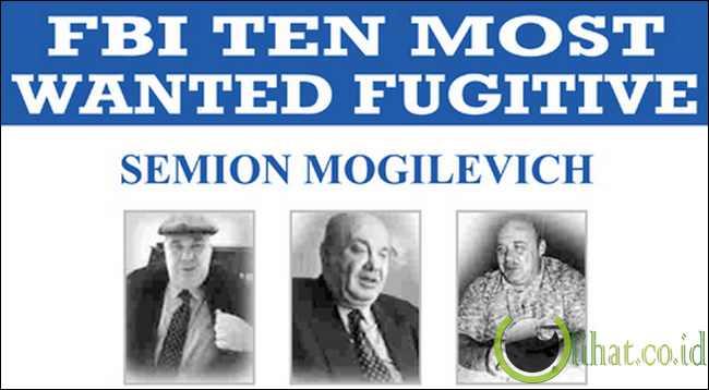 Lihat.co.id] - semion mogilevich menjadi orang paling dicari fbi