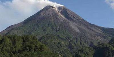 Letak Mistis Gunung Merapi