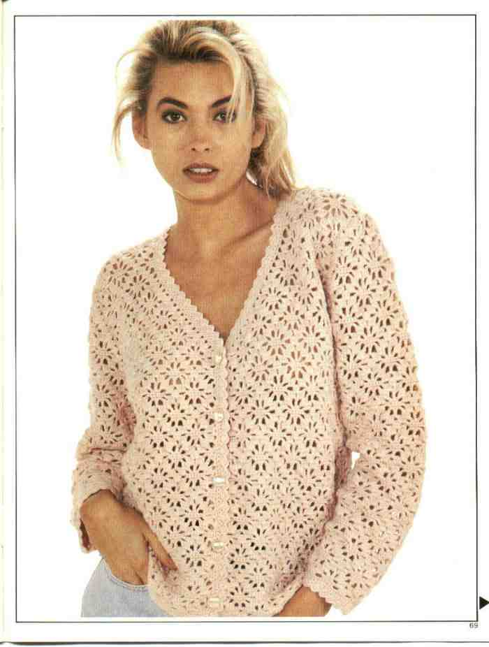 Free Pattern Crochet Sweater : Free Crochet Patterns for Cardigans ~ Free Crochet Patterns