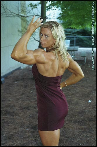 body building workout tips and advice: Christine Roth is