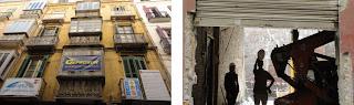 Fachadismo en Málaga, edificio histórico demolido parcialmente en calle Sánchez Pastor 8