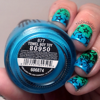 China Glaze Towel Boy Toy, China Glaze Kiwi Cool-ada, Pueen44