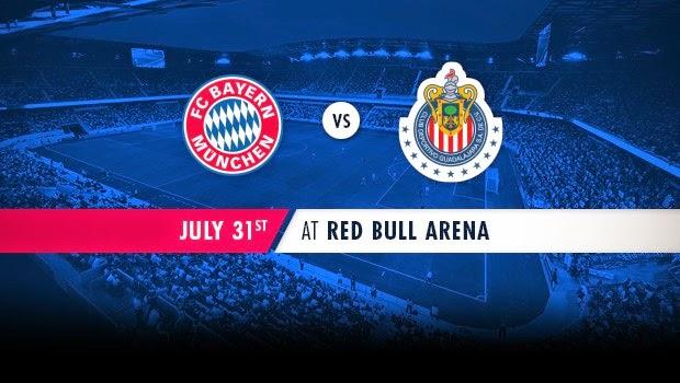 Chivas Guadalajara vs Bayern Munich En Vivo