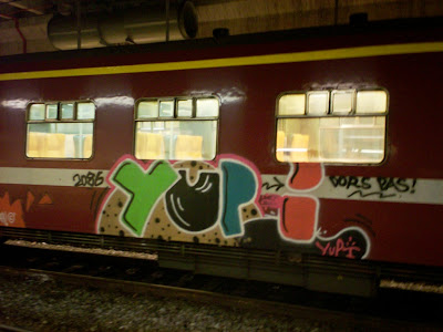 Yupi graffiti