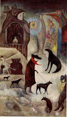 Leonora Carrington Around Wall Street