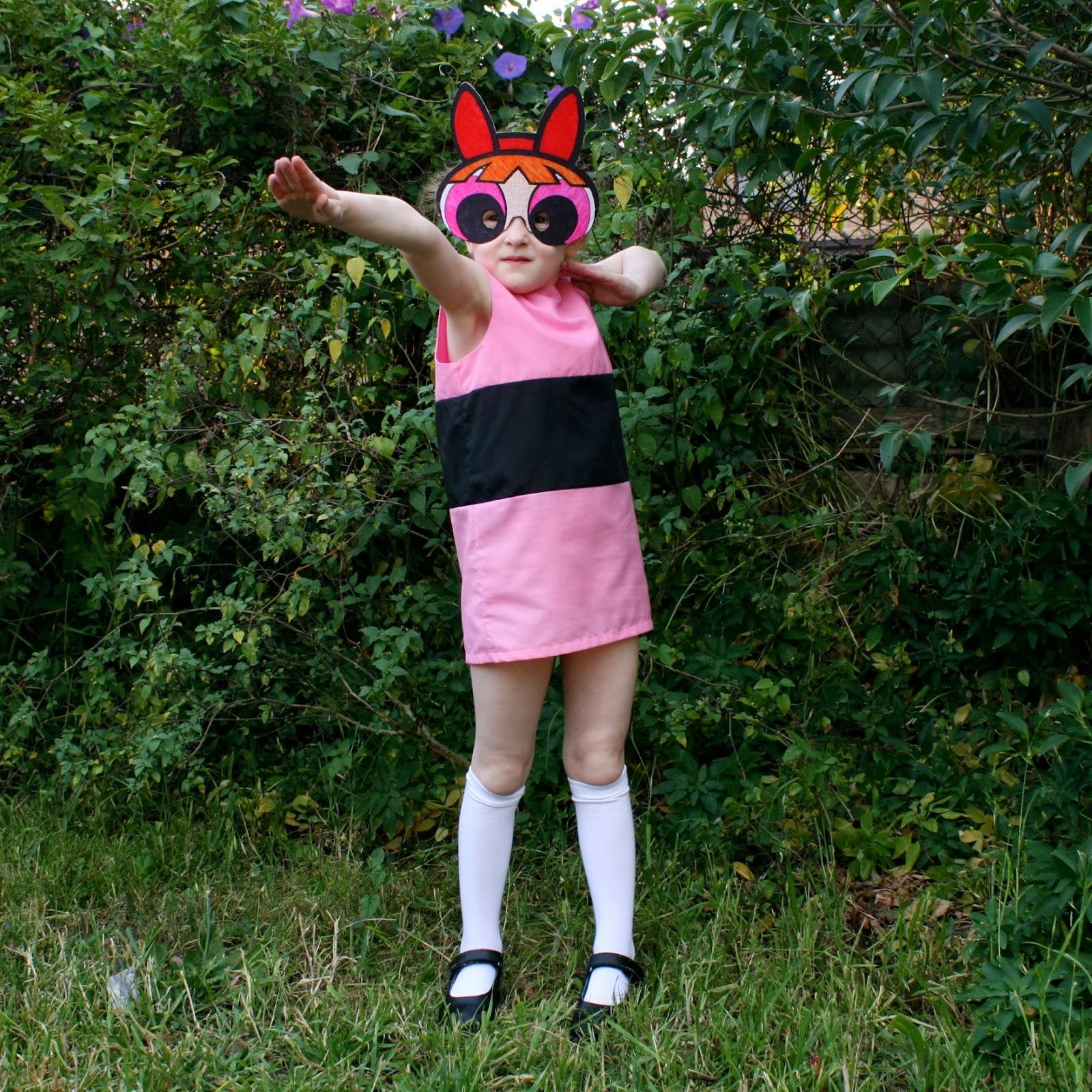 amelie and atticus: powerpuff girls halloween costumes