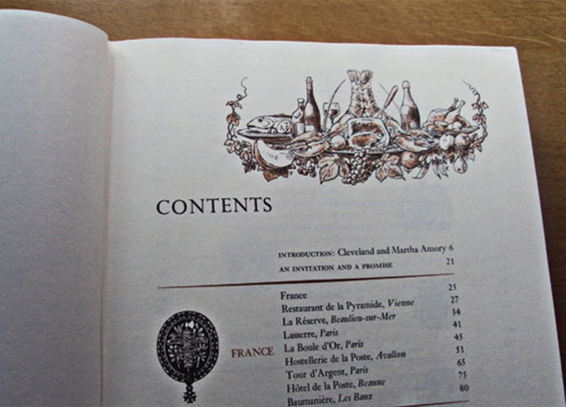 índice_A Treasury of Great Recipes