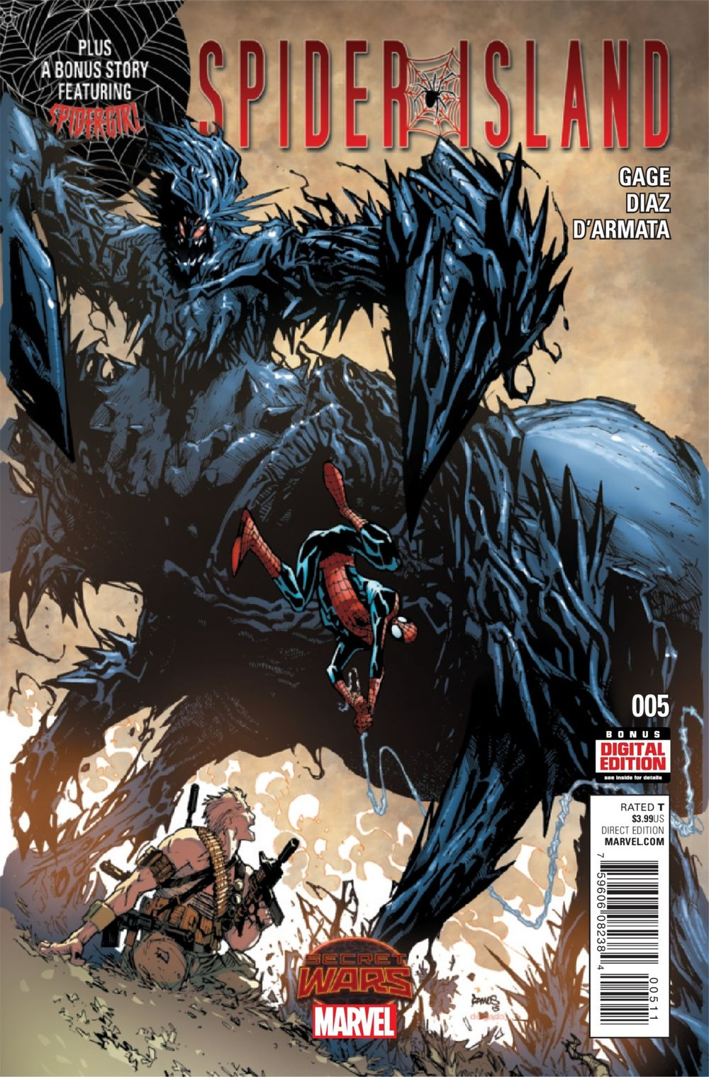 SECRET WARS SPIDER ISLAND#05