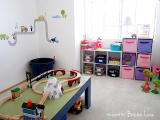 {Organized Playroom}