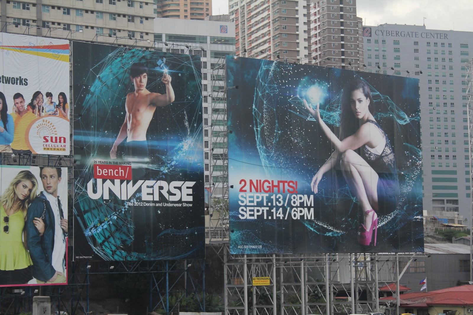 Bench Universe, The 2012 Denim Underwear Show   THE WEB ...