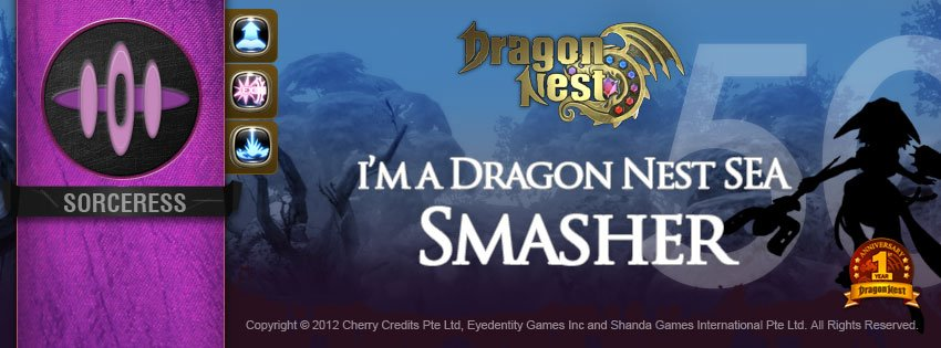 Sampul Facebook Job 2nd Fairy Guild Dragon Nest Indonesia