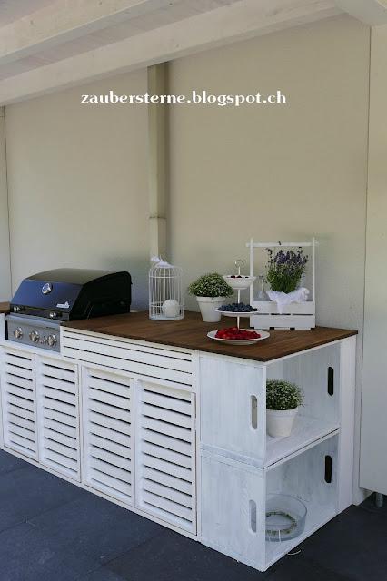 Küche DIY, Grillplatz, Aussentheke