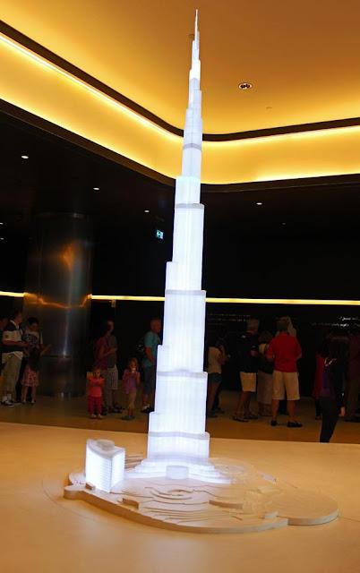 Burj Khalifa model