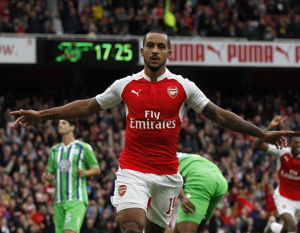 Arsenal vence o Wolfsburg e conquista a Emirates Cup