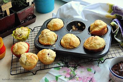 352. Brioszki z malinami, maślane bułeczki na śniadanie