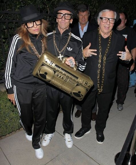 Masshole Sports: Robert Kraft Dressed As Run DMC For Halloween ...