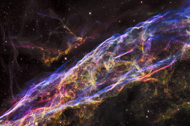 Supernova Remnant: The Veil Nebula